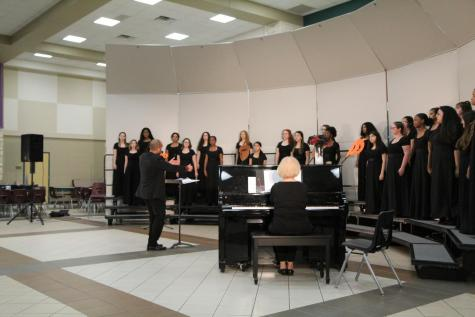Choir competes at All-State