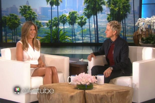 11 Buzziest Ellentube Viral Clips From Jennifer Aniston