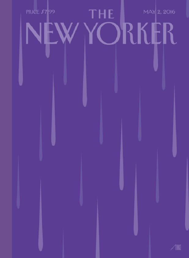 May 2, 2016 Prince New Yorker cover