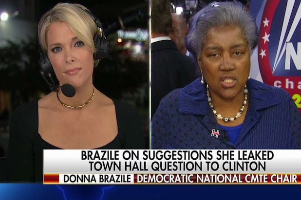 Donna Brazile Calls Megyn Kellys WikiLeaks Question