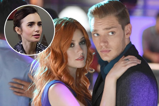 lily collins on shadowhunters