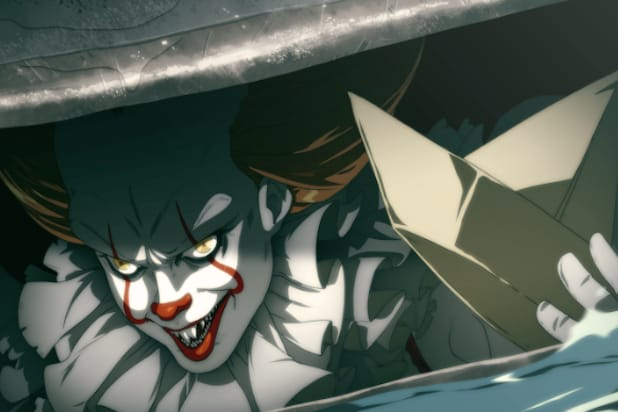 pennywise gets the anime