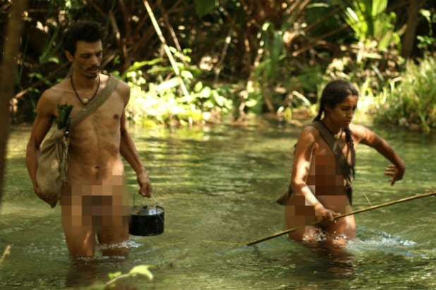 Amal Uses Her Pee to Catch Fish on Naked and Afraid