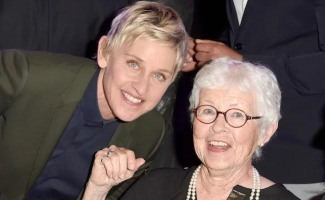 Ellen Degeneres Mom Lives With Regret Over Not