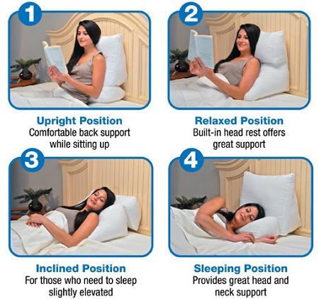 contour flip wedge pillow discontinued