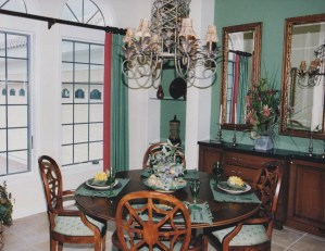 Dining Room by Wright windows Florida