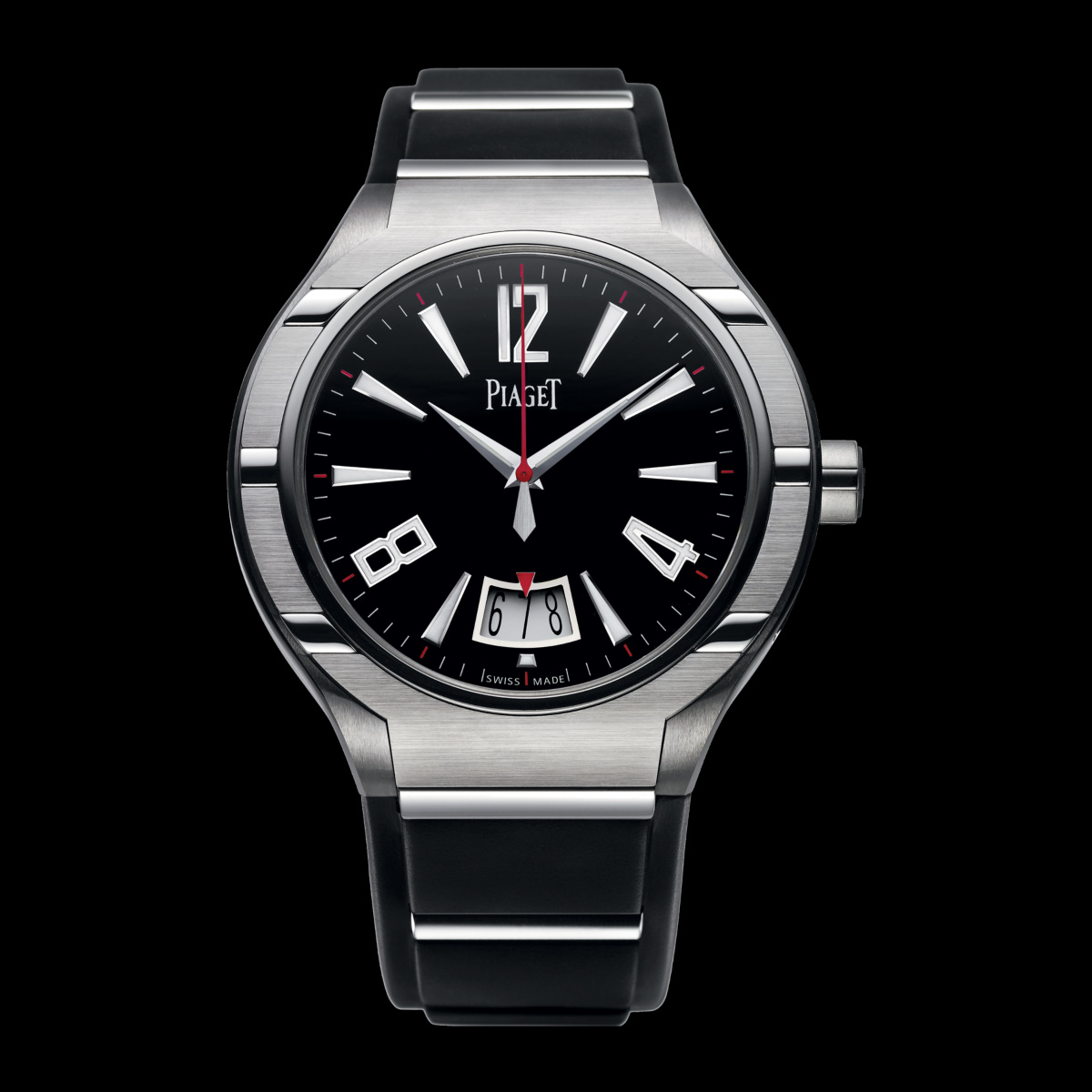 PIAGET POLO FORTYFIVE WATCH black dial