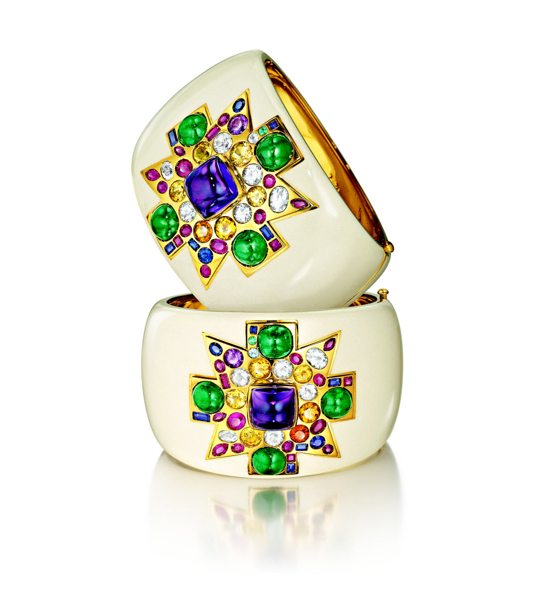 Verdura's New Set of Coco Chanel cuff bracelett