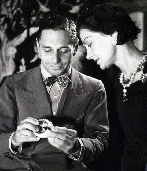 Verdura cuff bracelet being admired by coco chanel