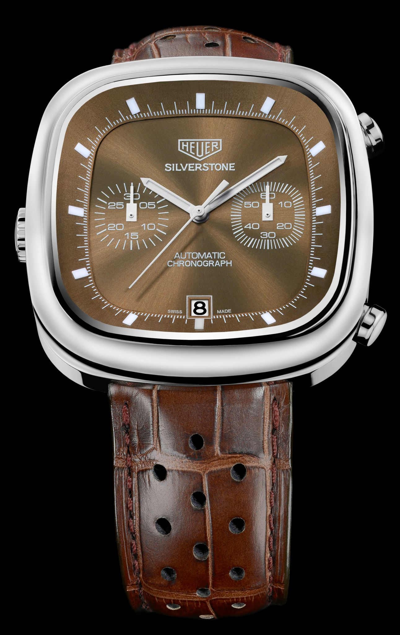 men's chronograph watch tag heuer