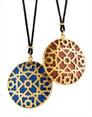 Pendan Necklaces from Paloma Picasso's newest Collcetion for Tiffany & Co.