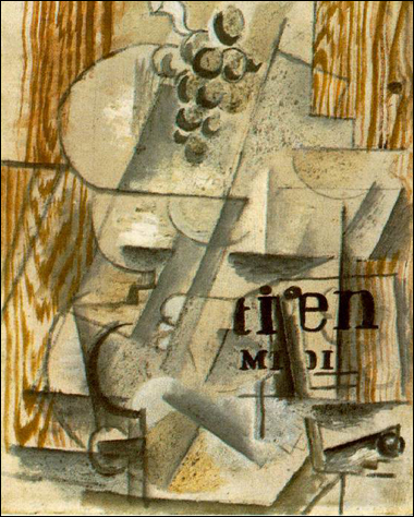 cubist painting by Georges Braque