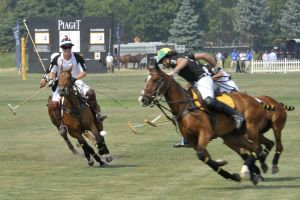 Prince Harry plays Polo June 2010
