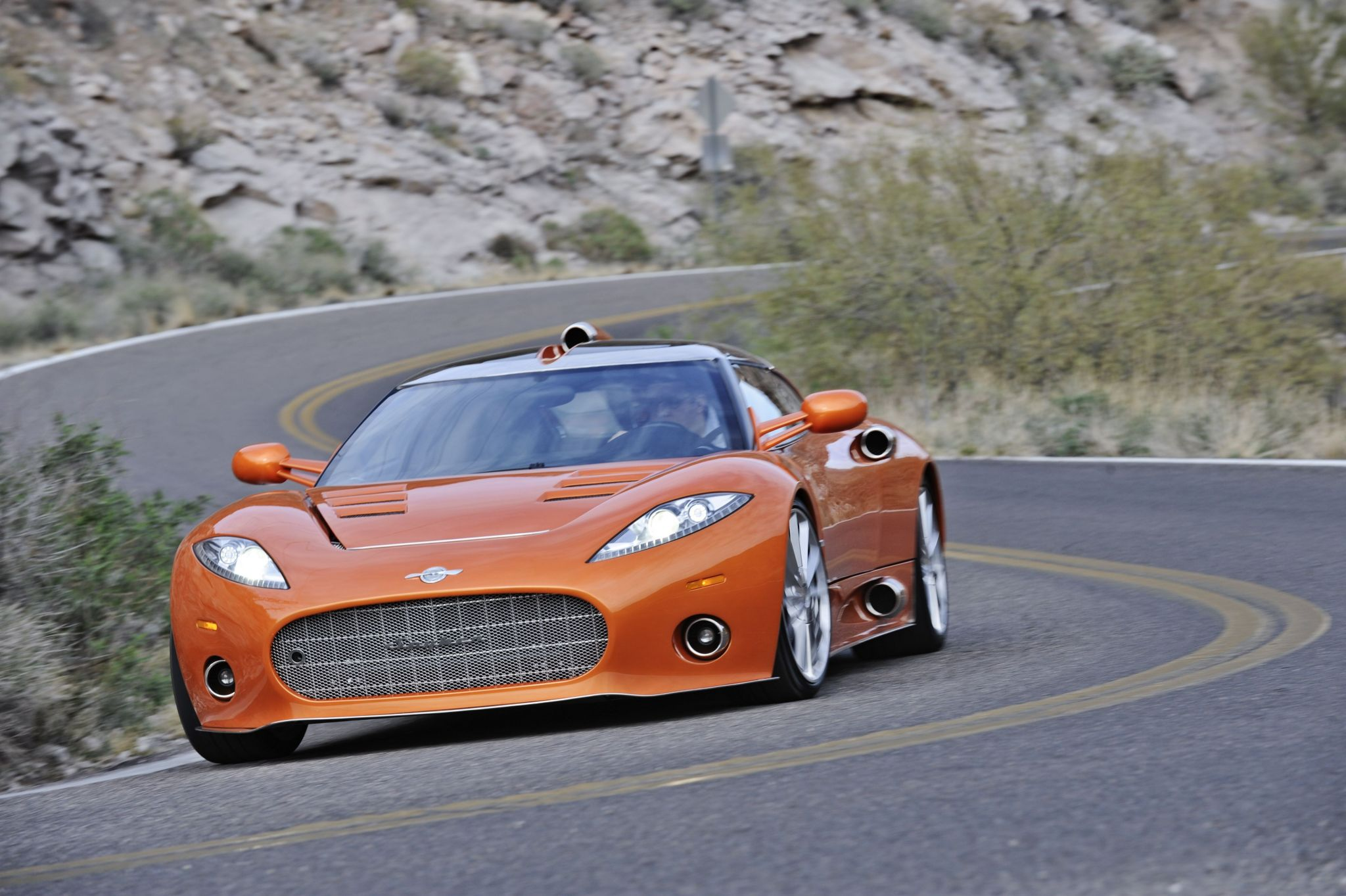Spyker car automobile