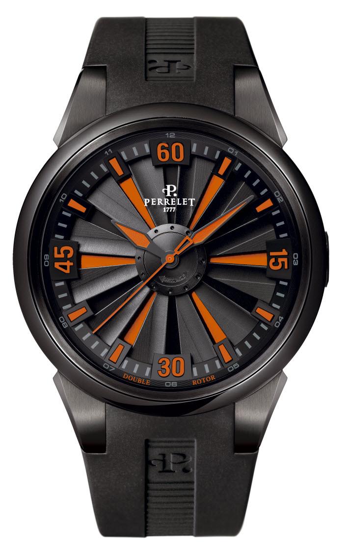 automatic watch perrelet watch turbine engine