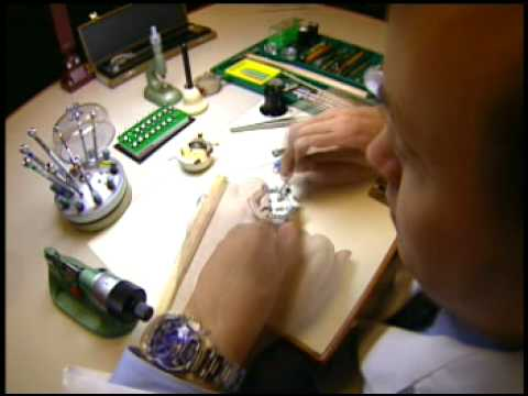 The Art Of Watchmaking by Rolex
