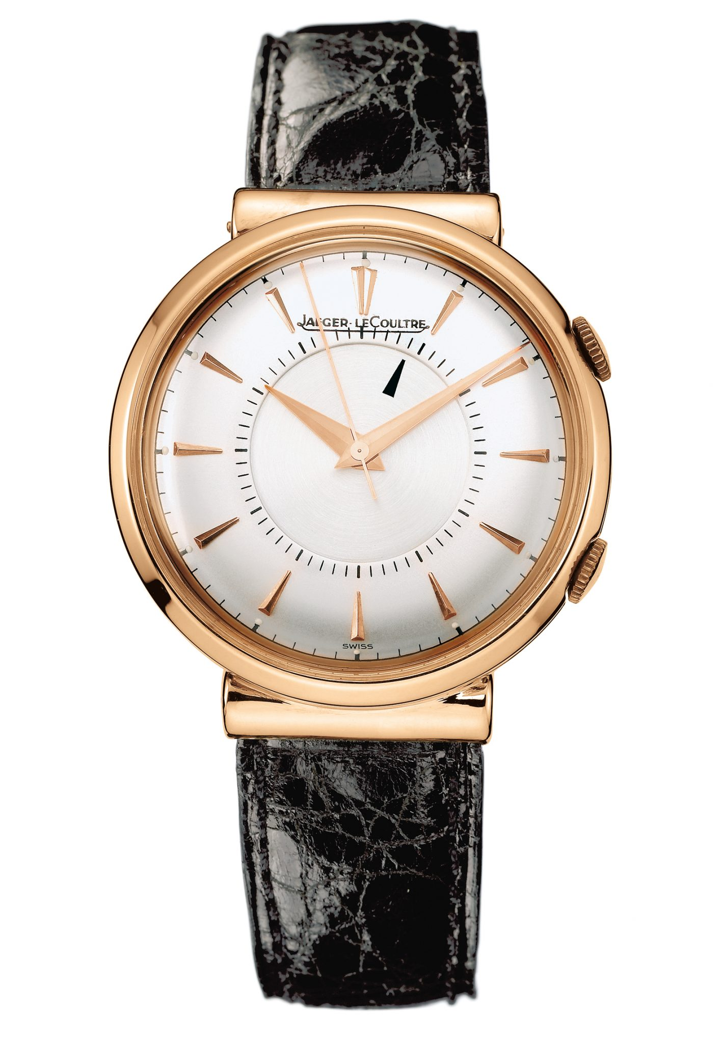 The first Jaeger-LeCoultre Memovox watch made in 1950 alarm watch automatic watch