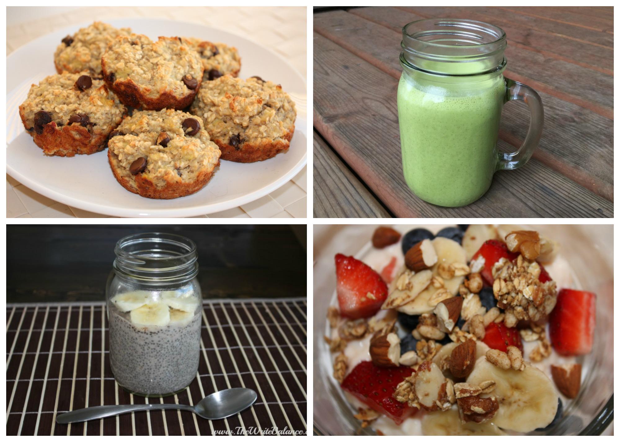Clean Eating Breakfast Ideas - The Write Balance