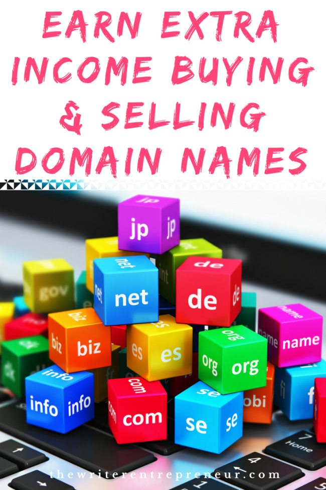 Earn Extra Income Buying and Selling Domain Names