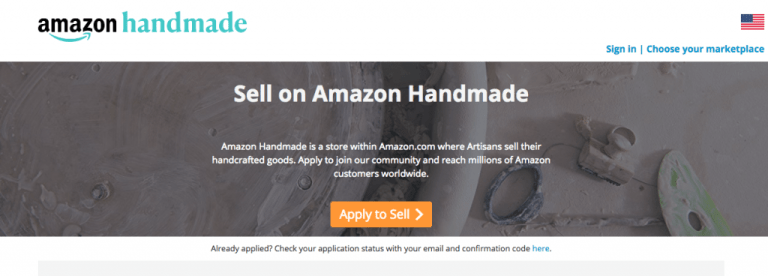 amazon handmade sign up