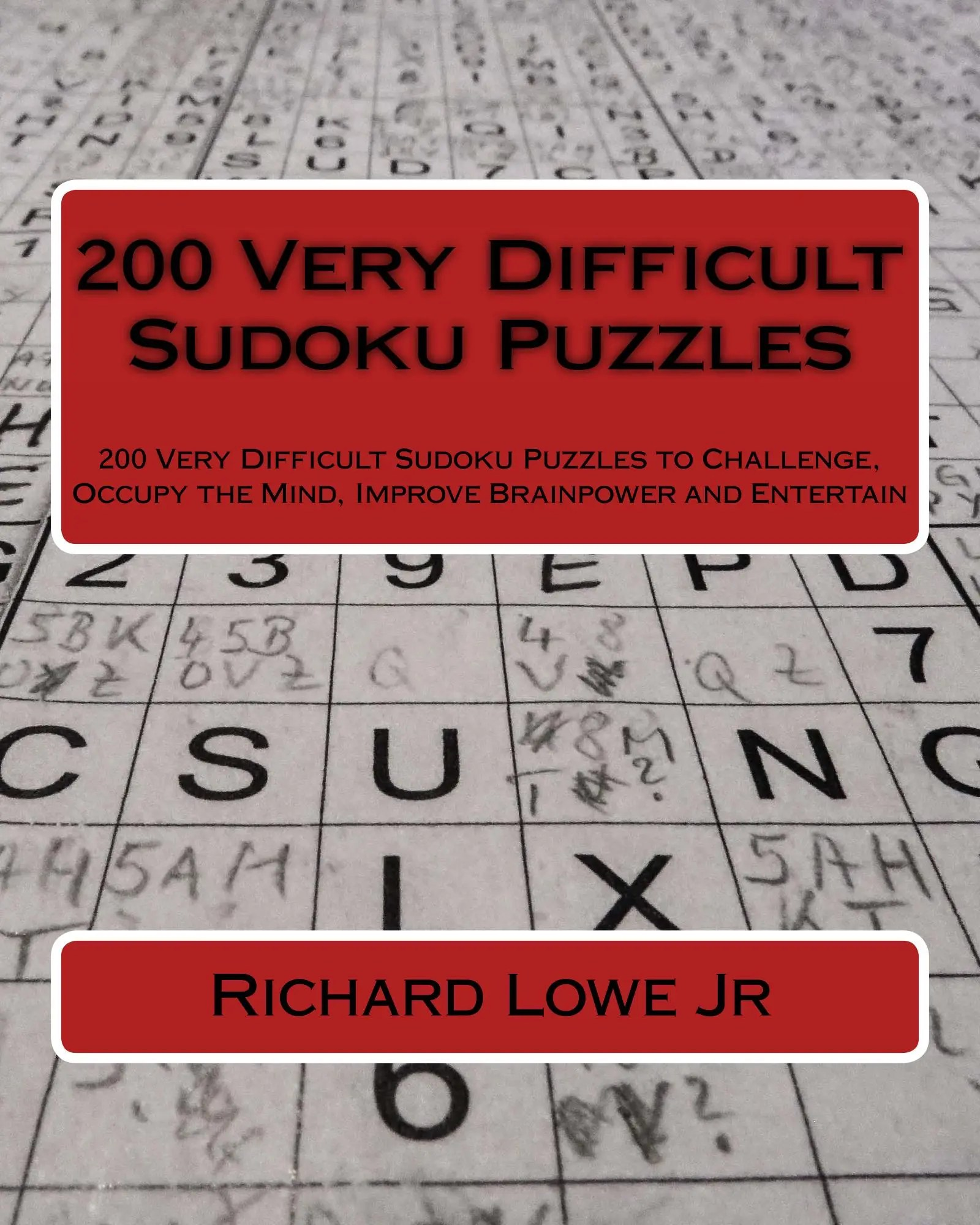200 Very Difficult Sudoku Puzzles The Writing King