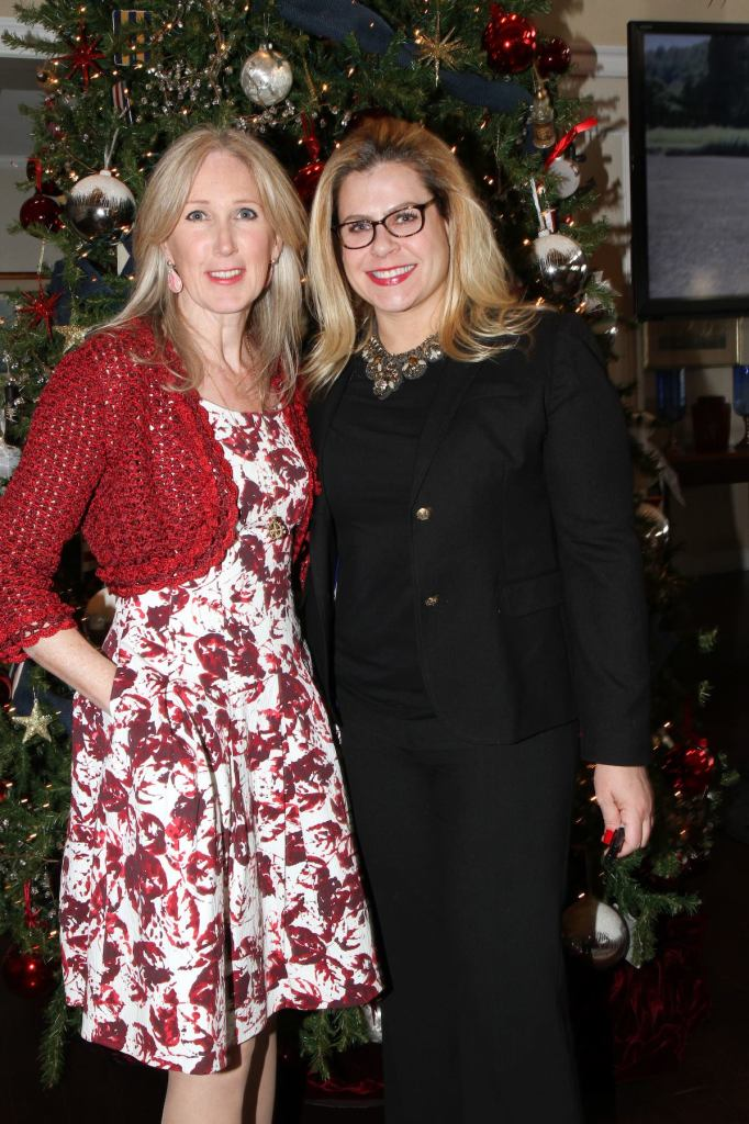 Suzanne Clary and Alexa Hampton (Photo credit: Cutty McGill)