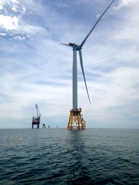 Turbines being installed