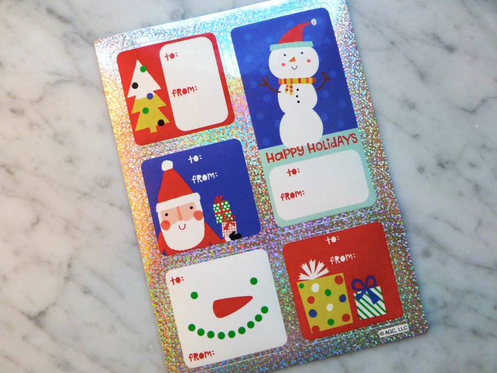 Target Holiday Gift Tags