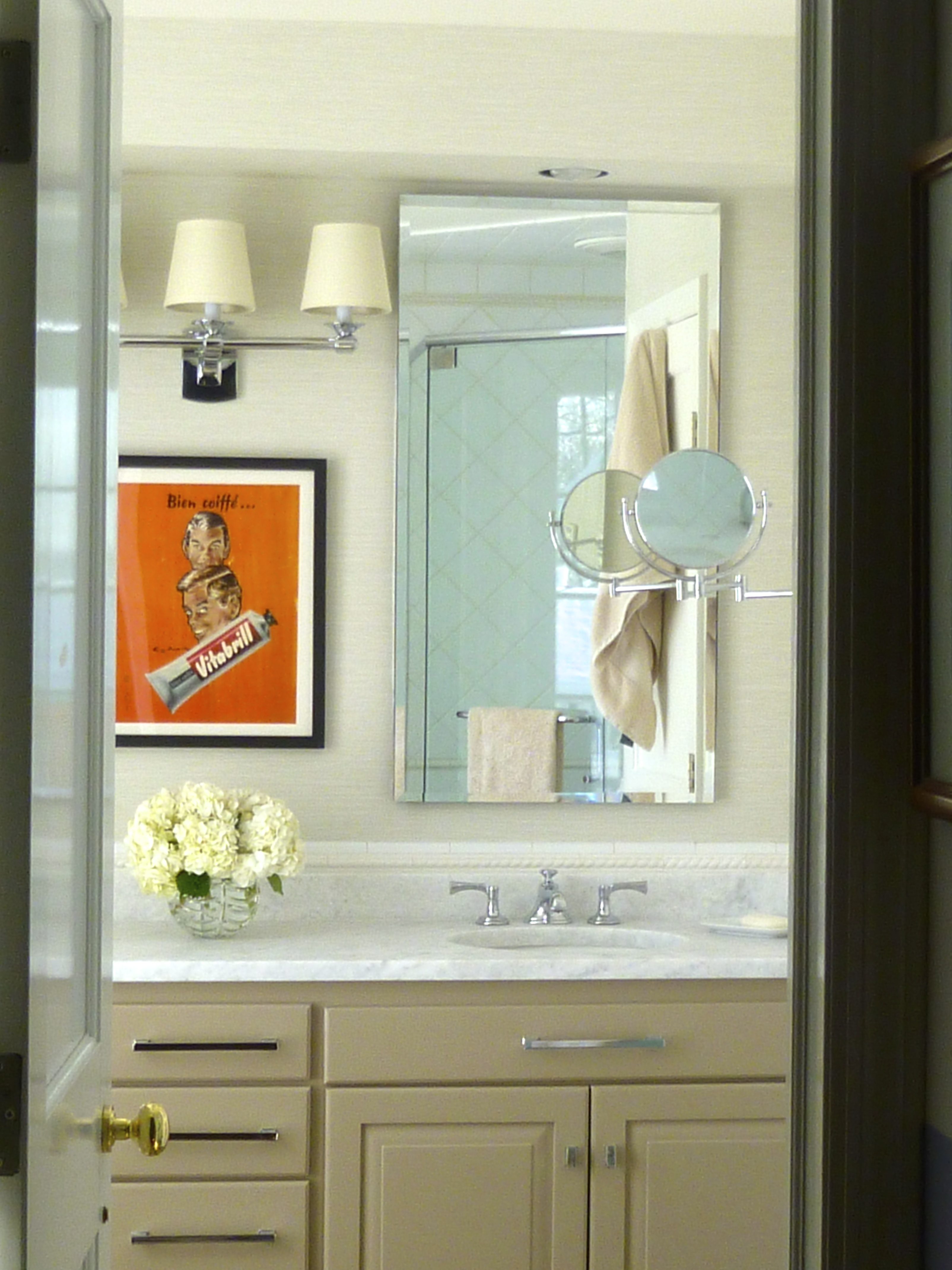 My UP-dated Master Bath | The Wry Home