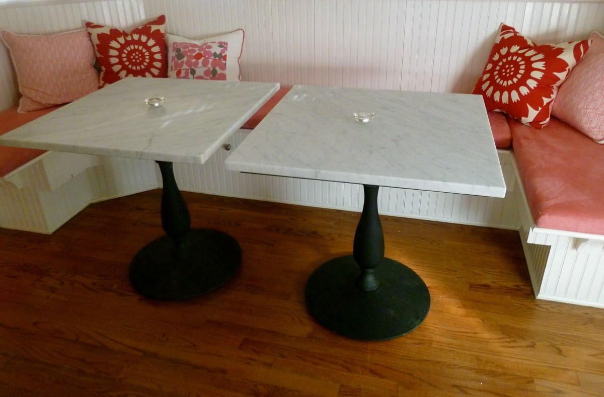 My Homemade  Marble Tables