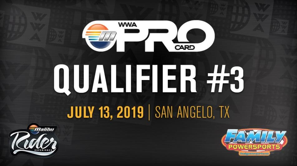 Pro Card Qualifier #3