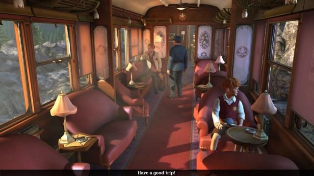 the raven train