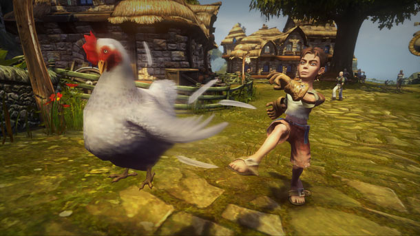 fable chicken kicking