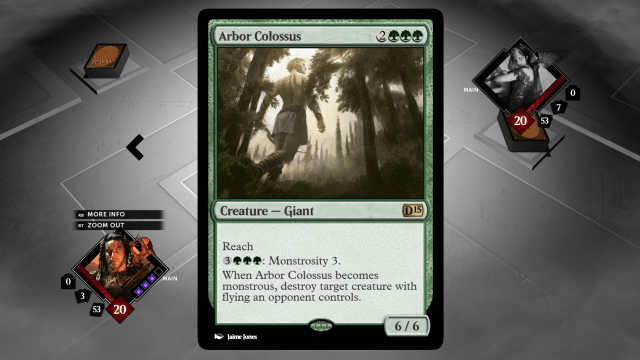 Magic Arbor Colossus