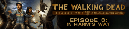the walkind dead s2 ep3 banner