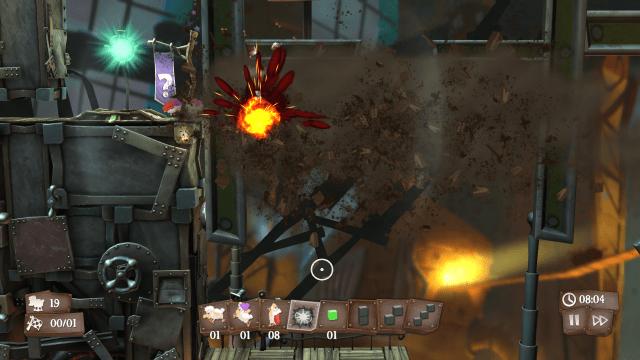 Flockers Death - Explosion