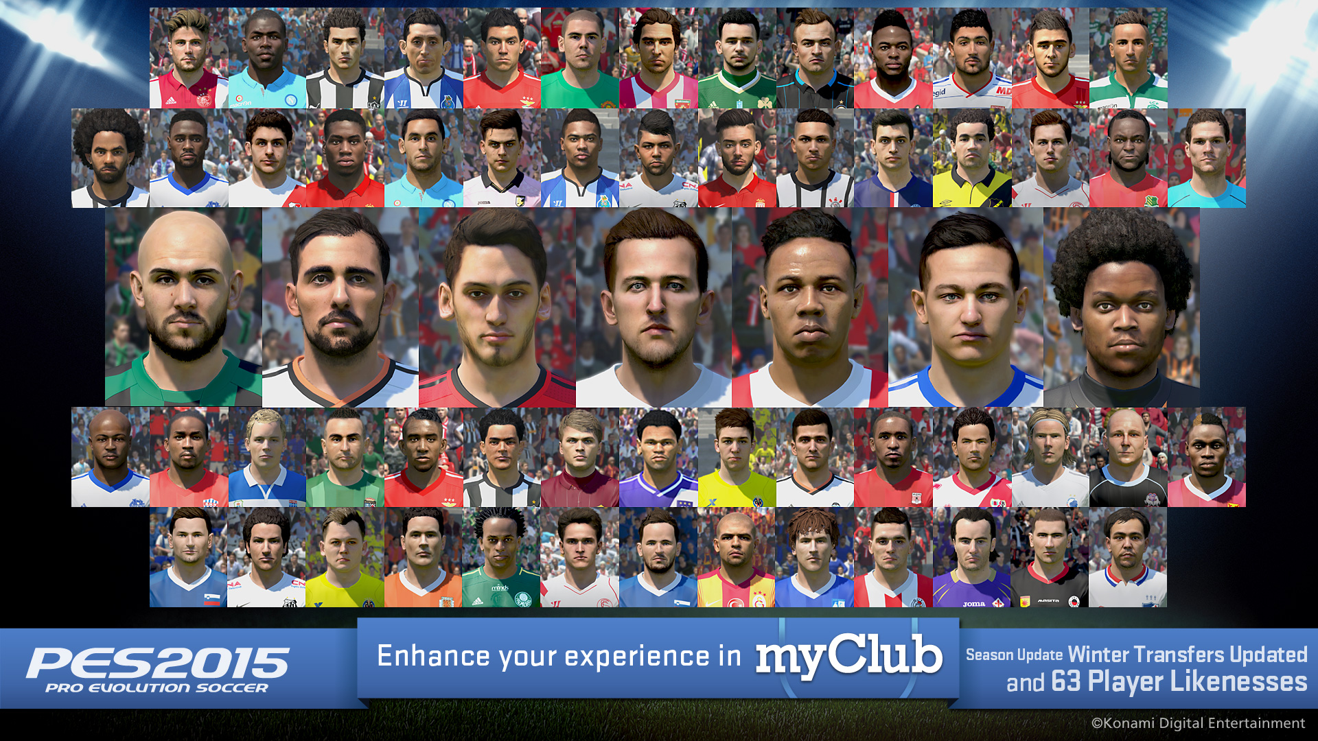 PES 2015 Data Pack 4 content update revealed! | TheXboxHub
