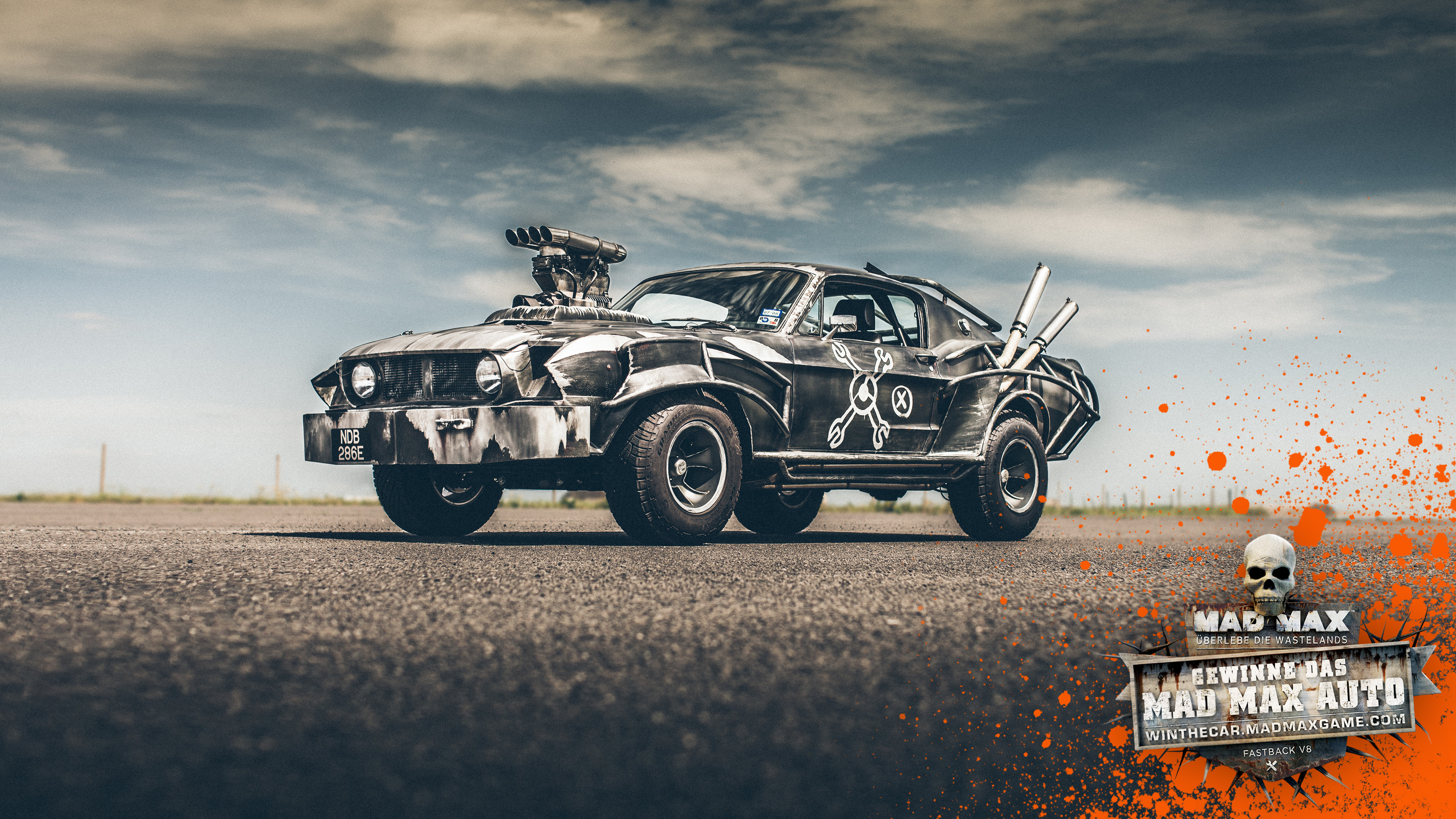 Win the official mad max magnum opus mustang with warner bros