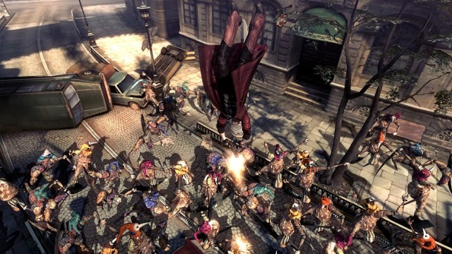 devil may cry 4 review crowd