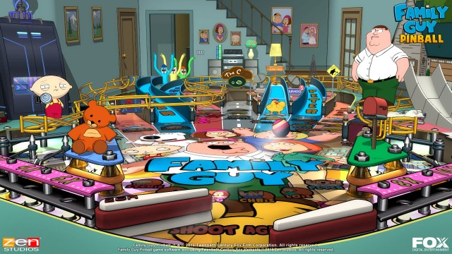 family guy pinball fx2