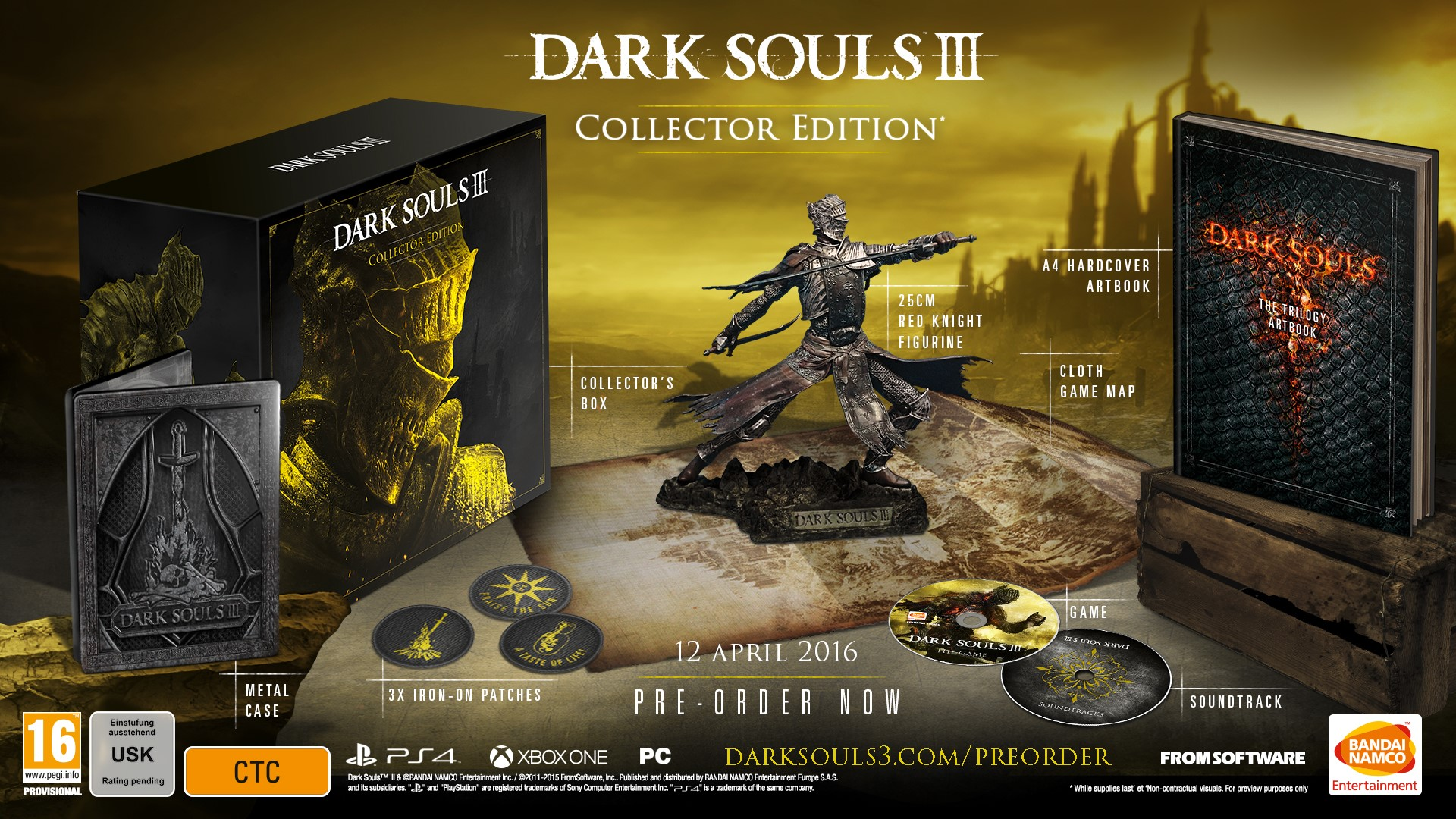 Pre-order editions announced for Dark Souls III | TheXboxHub