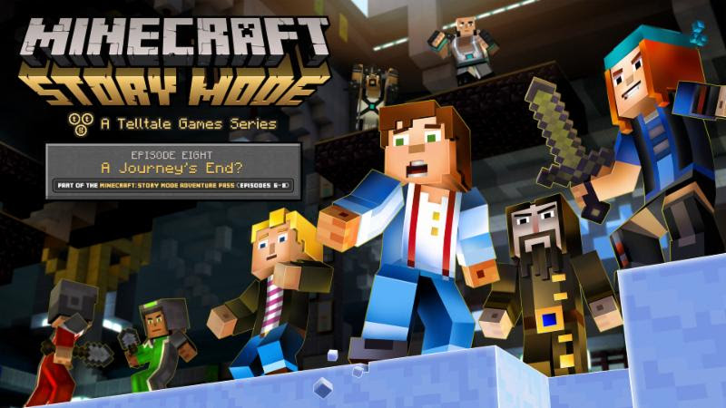 Read More145Minecraft Story Mode Episode 8 available now