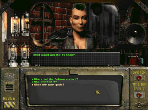 Fallout looked and felt very different