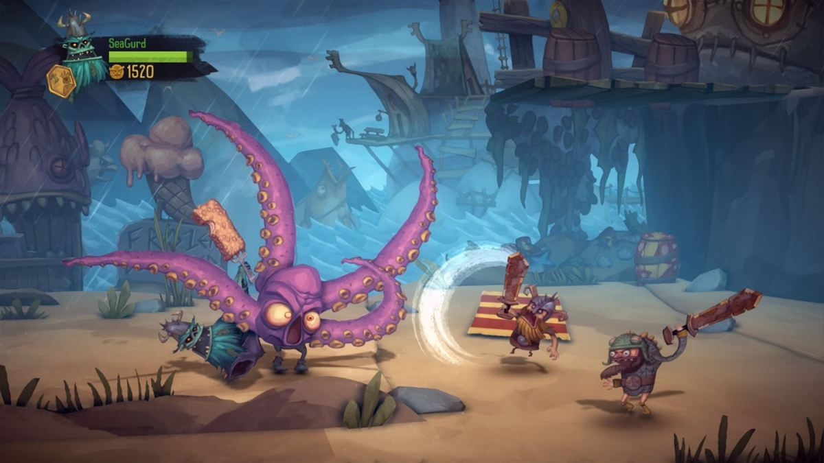 The Zombie Vikings have invaded Xbox One