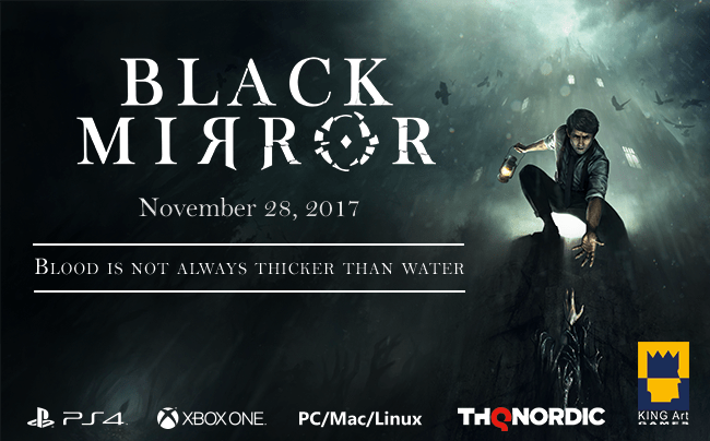 Black Mirror announced for Xbox One, PS4 and PC with November release