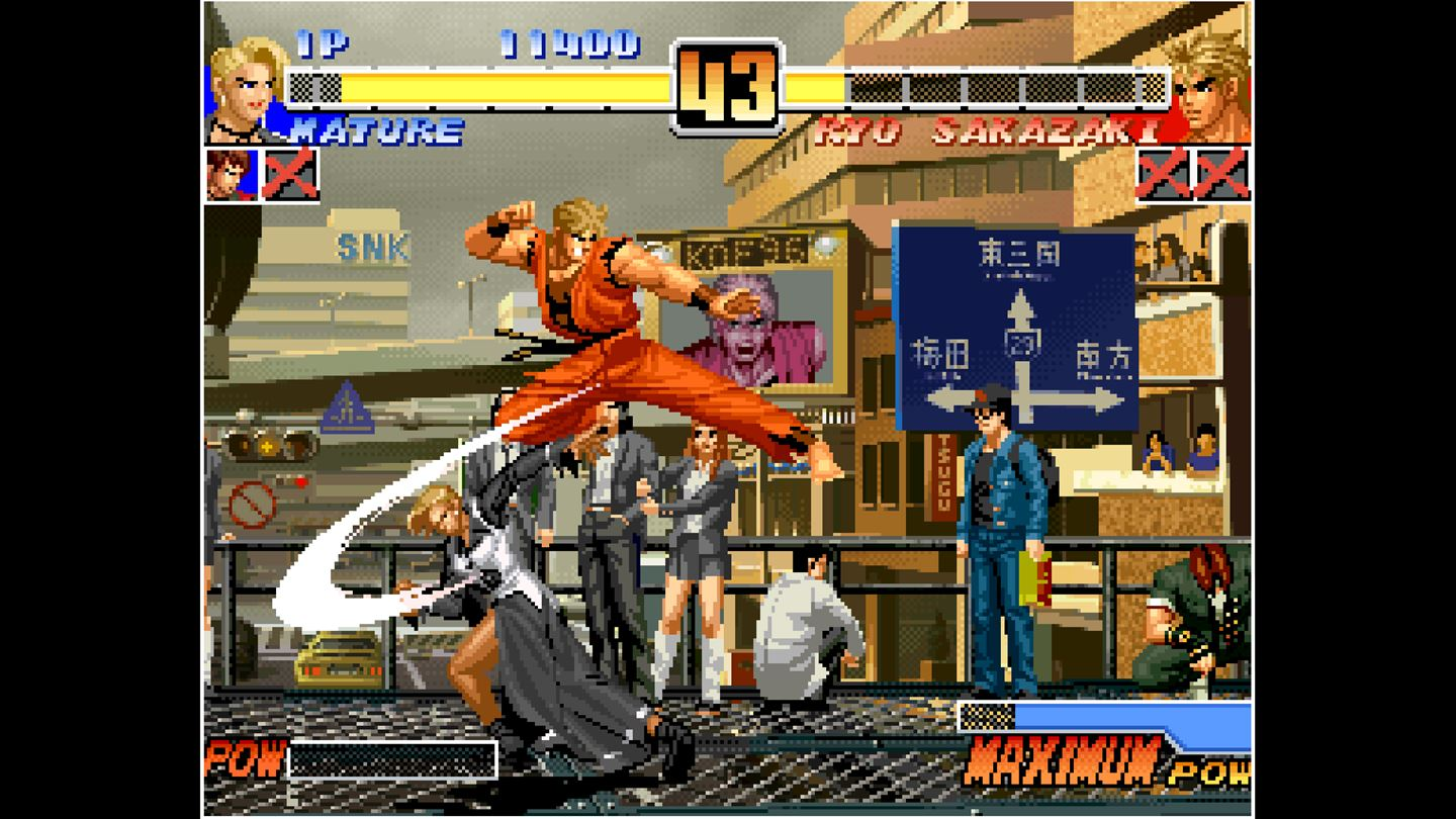 ACA NEOGEO The King of Fighters '96 now available on Xbox