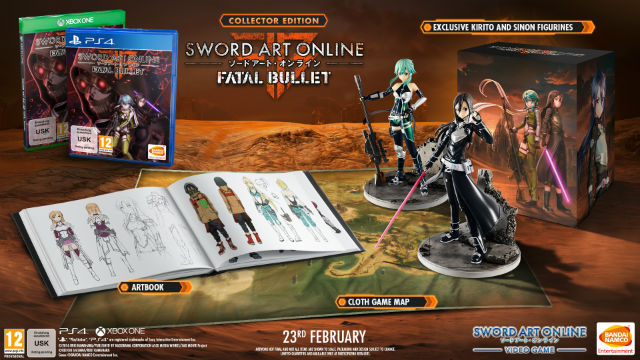 Sword Art Online: Fatal Bullet release date, Collector's Edition and pre-order bonuses detailed