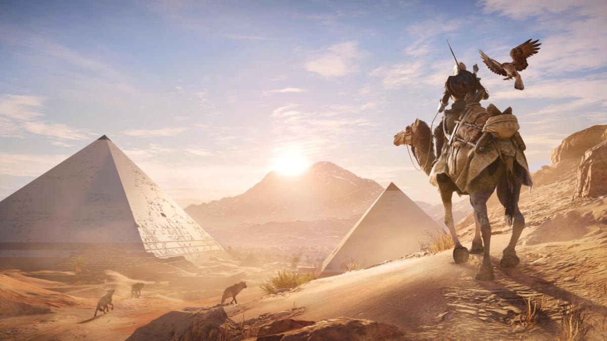 Reach for the sky as the Assassin's Creed Origins Horus DLC Pack arrives