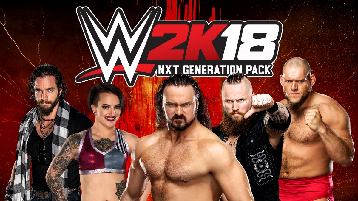 Embrace the NXT Generation of Superstars now available for WWE 2K18 on Xbox One