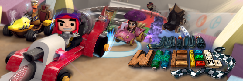 Arcade kart racing on Xbox One, PS4 and PC? That'll be Mini Wheels!
